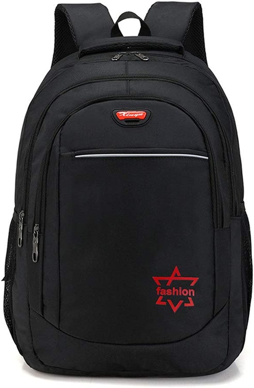 Fashion Men's Backpacks Outdoor Men's Computer Bag Travel Business Men's Backpack (color   Red, Size   30  21  26cm)