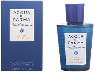 Acqua Di Parma Blu Mediterraneo Shower Gel, Cedro Di Taormina Invigorating, 6.7 Ounce
