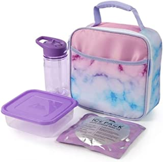 Arctic Zone Lunch Box Combo with Accessories (Marble)