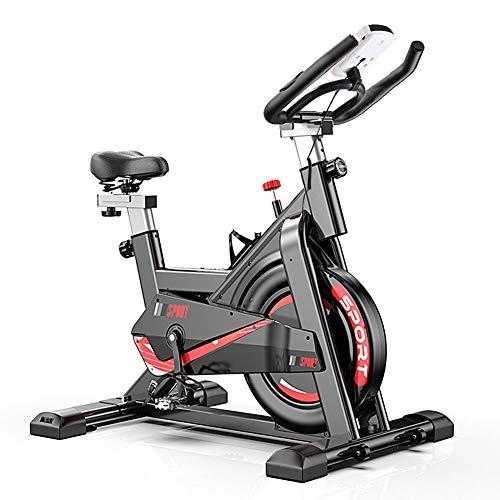 Tribesigns Cyclette con cardiofrequenzimetro, Display LCD, sensori di pulsazioni, Bici da Spinning Super silenziosa per la casa/Area Fitness
