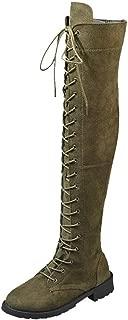 Best hunter green thigh high boots Reviews