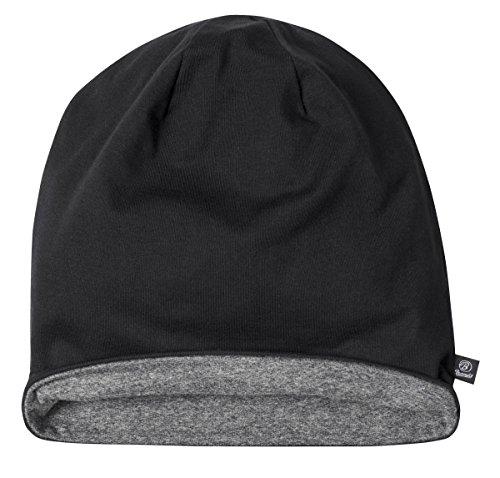 Beanie Jersey 9168-79-XL/XXL Bicolor Black-Anthr. -(groß)