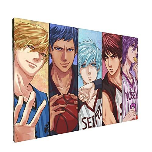 YUERU Kuroko's - Pintura de baloncesto exquisita, pinturas murales para sala de estar, dormitorio, oficina, hogar, arte y habitaciones de 30 x 45 cm
