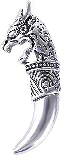 Broche de cabeza de lobo PULABO con diseño de animal para hombre Accesorios de personalidad Regalo rentable y duradero. Se...