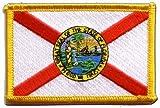 Flaggen Aufnäher USA Florida Fahne Patch + gratis