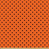 ABAKUHAUS Orange Microfaser Stoff als Meterware,