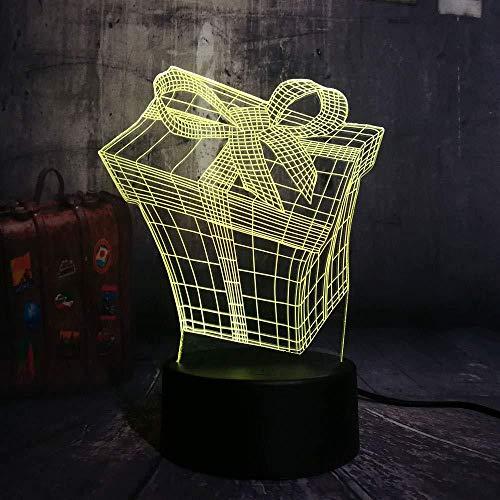 Diaporama 3D-licht/cadeauset verlichting LED nachtlampje 3D nachtlampje meerkleurig bureaulamp Kerstmis cadeau verjaardag kinderen kroonluchter LED nachtlampje groot licht