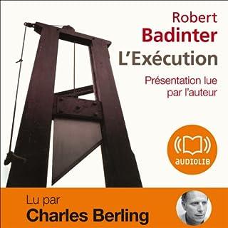 Couverture de L'Exécution