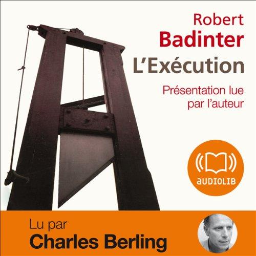 Page de couverture de L'Exécution