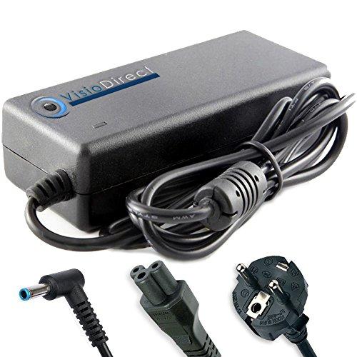 Visiodirect Alimentation pour ordinateur portable HP COMPAQ 350 G2 Chargeur Adaptateur 65W 19,5V 3,33A