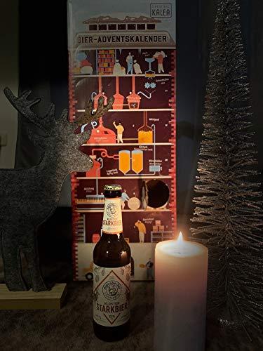 Kalea Bier Adventskalender 2020, 24 Biere von Privatbrauereien, inkl. Bier Informationen und Videos zu den Bieren, der neue Adventskalender von Kalea für Männer mit einem spannenden Design - 4