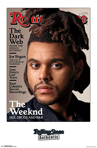 Trends International Rolling Stone Magazine The Weekend Wall Poster 22.375