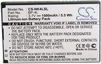 XPS Replacement Battery Compatible with Nokia 6760 Slide E52 E55 E61i E63 E71 E71x PN BP-4L