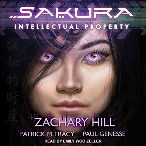 Sakura audiobook cover art