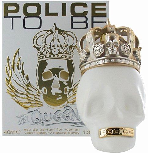 Police To Be The Queen pour femme Eau de parfum 40 ml Eau de parfum en flacon vaporisateur pour femme avec sac cadeau