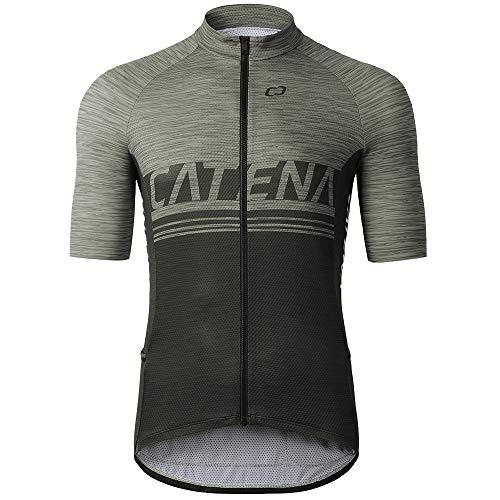 CATENA Camiseta de ciclismo de manga corta transpirable de secado rápido para correr, absorbe el entrenamiento, para ciclismo, equitación, deportes al aire libre