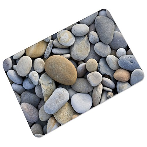 Xinvision Fussmatte für Haustür Flur Innen und Aussen Draussen Küche Matte für Stock Ultra dünn 3mm Anti-Rutsch In der Teppiche & Matten 7 Farbe 60x90cm