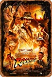Raiders of The Lost Indiana Jones Han Poster Retro