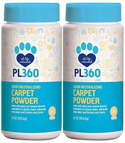 Pet Odor Neutralizing Carpet Powder, Citrus, 16 oz (2 Pack)