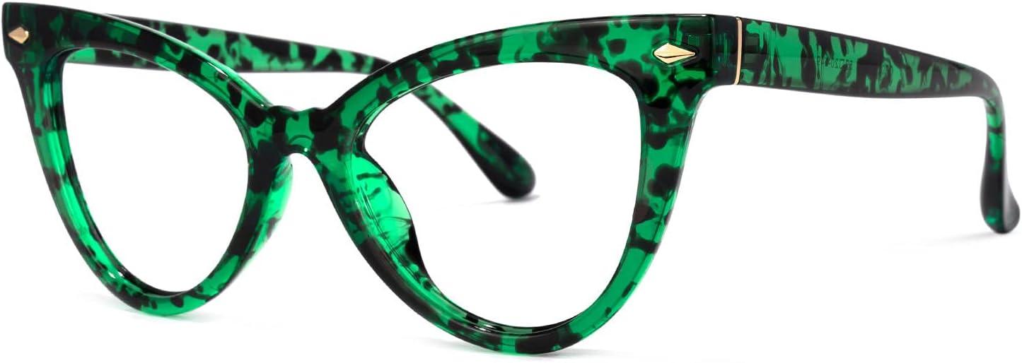 Voogueme Cat Eye Green Popular products Blue Light Women Blocking for Alternative dealer Glasses An