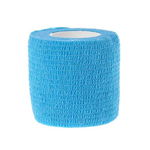 Yiwann Bande de kinésiologie Bandage élastique pour l'exercice, 1 rouleau de bande adhésive de sport pour le sport et la récupération des blessures 1