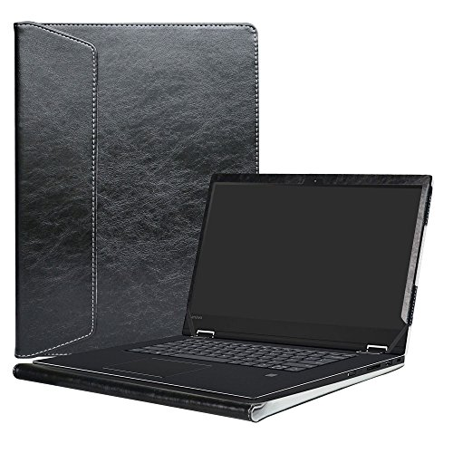 Alapmk Protective Case Cover for 15.6' Lenovo Flex 5 15 1570/Flex 15 Flex-15IWL Flex-15IIL/ThinkPad T590 P53s & ASUS ZenBook Pro UX550VE Laptop(Note:Not fit Flex 5 14/Flex 6/Flex 4/Flex 3),Black