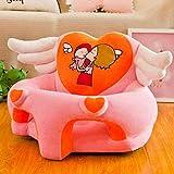 JJZXD Silla de la Felpa de los niños Animales Dulce Asientos Sillas Puf Sillón de Muebles for niños Juegos Dormitorio (Color : B)