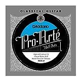 D'Addario HGH-3T Pro-Arte Hybrid Carbon G Classical Guitar Half Set, Hard Tension