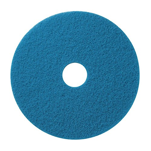Amazing Deal Americo Manufacturing 400414 14 Blue Cleaning Pad (5/case)