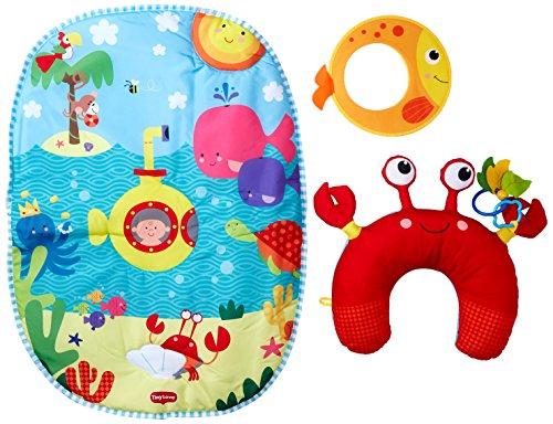 Tiny Love Tummy Time Fun Tappeto Gioco Palestrina Bambini, con Cuscino Ergonomico