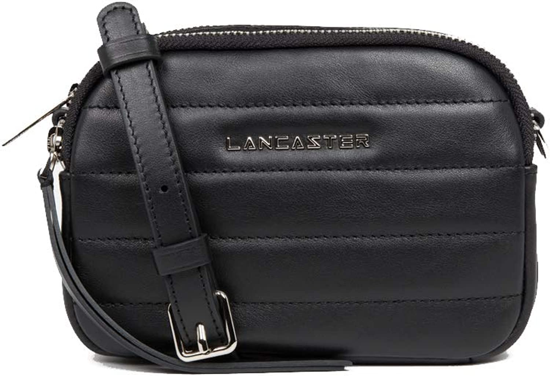 Lancaster Parisienne Couture Schultertasche Schultertasche Schultertasche schwarz B07N67K22T fe3317