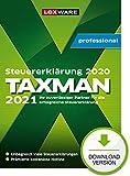 Lexware Taxman 2021 professional Download für das Steuerjahr 2020   3-Platz-Lizenz für die gewerbliche Nutzung & unbegrenzt viele Steuererklärungen   PC Aktivierungscode per Email