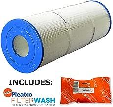 Pleatco Cartridge Filter PLBS75 Rainbow Waterway Leisure Bay S2/G2 Spa 75 817-0015 303433 R173600 w/1x Filter Wash