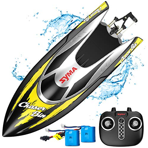 Syma Remote Control Boat, Q7 RC Boat for Pools and Lakes with 2.4GHz 25km/h...