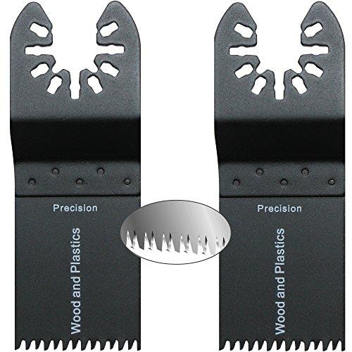 Hobbypower24© Set 2x/4x/6x Tauchsägeblatt / Japan Precision Sägeblatt 35mm Holz & Kunststoff für ALDI TopCraft Workzone Duro LIDL Parkside und WORX (2)