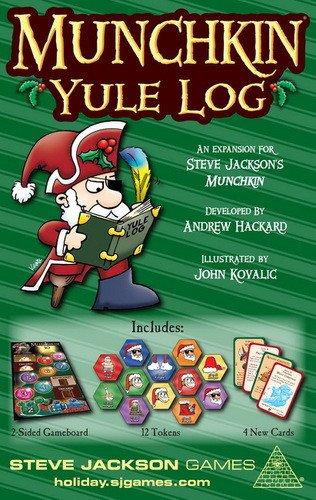 Steve Jackson Games - Munchkin Tronco de Navidad