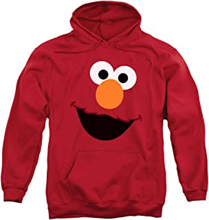 Sesame Street Character Pull-Over Hoodie Sweatshirt & Stickers