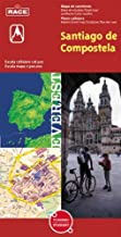 Santiago de Compostela, A Coruña. Plano callejero y mapa de carreteras (Planos callejeros / serie roja)