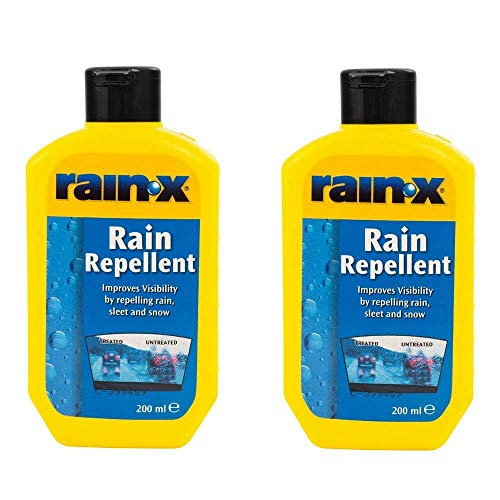 Rain-X RainX Rain Repellant 200ml TWIN PACK Windscreen Cleaner Guard