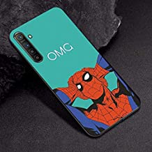 VERONIQUE-Fitted Cases - For OPPO A3S Case A7 AX7 Captain Marvel Comics Soft TPU Case For OPPO R17 RX17 Neo K1 A9 A5 2020 A5 A11X Case Cover Realme XT X2 (TPUBLK629 For OPPO RX17 Neo)