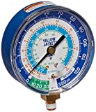 Yellow Jacket 49106 Gauge (Degrees F) Blue Compound, 30'-0-120 psi, R-22/134A/404A, 3-1/8'
