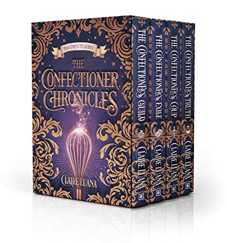 The Confectioner Chronicles: The Complete Fantasy Mystery Series Kindle Edition by Claire Luana  (Author)