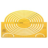 ZHHRHC テーラースケール数学アーキテクチャエンジニアルーラー図面製図テンプレート