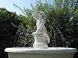 pompidu-living Wasserspeier Putto Corno H 72 Farbe Terracotta