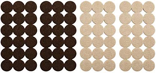 Softtouch 4771595N Self Stick 1 Inch Felt Furniture Pads to Protect Hardwood Flooring from Scratches product image