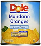 Dole Mandarin Oranges Can, 8 Count