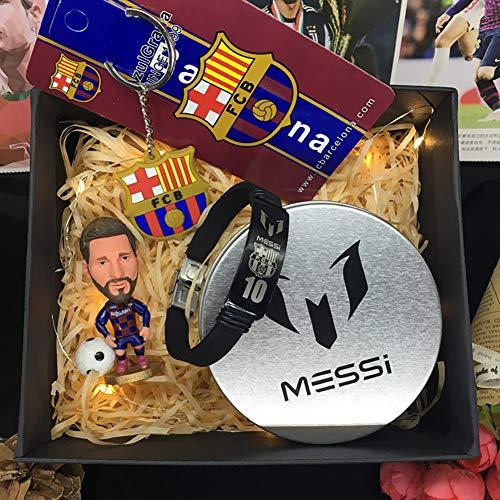 PAGHY Real Madrid C Ronaldo/Messi Basse/Neymar Football Star Dolls, nuevos ganadores de Juegos, Regalos de cumpleaños para niños de 2020-B
