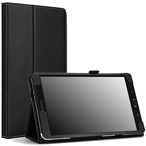 MoKo Samsung Galaxy Tab PRO 8.4 2014 Case - Slim Folding Cover Case for Galaxy TabPRO 8.4 Android Tablet, Black (with Smart Cover Auto Wake/Sleep. Will NOT Fit Samsung Galaxy Tab 4 8.0)