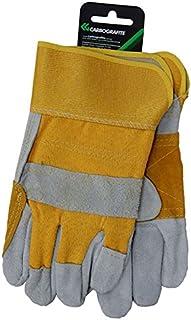 Luva Construtor, Carbografite, 012192012, Amarelo