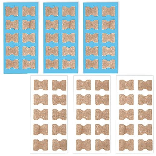 pegatinas correctoras de uñas encarnadas, 60 piezas corrector de uñas